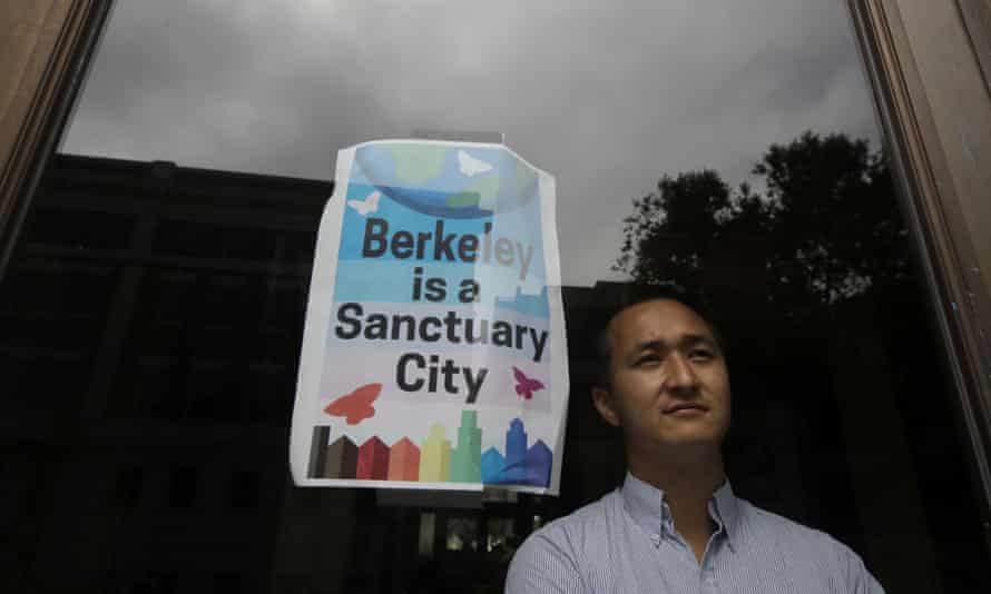 Rigel Robinson, of the Berkeley city council, who is pushing the measure