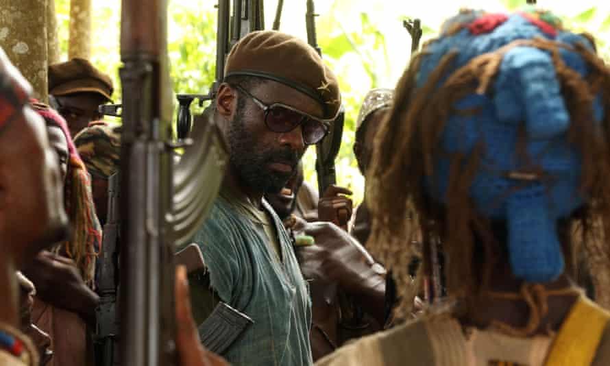 No nomination: Idris Elba in Beasts of No Nation.