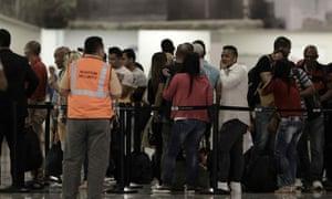 Cuban migrants Costa Rico US