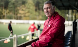 Nigel Pearson, pictured during his most recent job, with OH Leuven in Belgium.