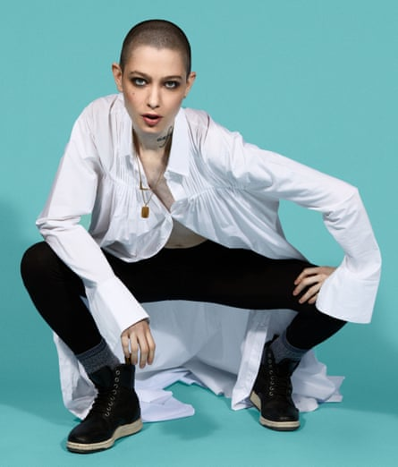 'Ladies and gentlemen are not the only words – we're just making assumptions about other people': Asia Kate Dillon.