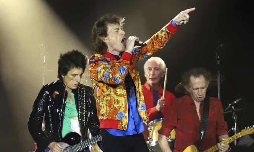 The Rolling Stones performing in 2019.