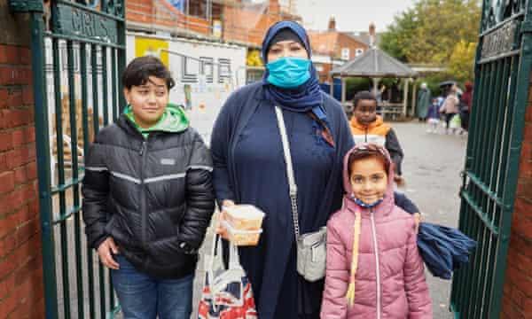 Atika El Mir and her children