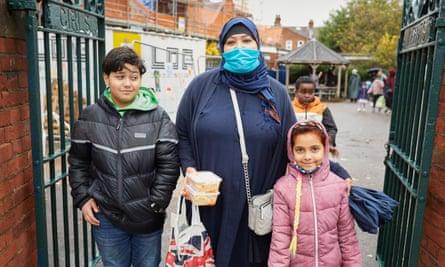 Atiqa al-Mir and her children