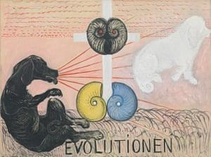 Far-sighted pioneer … Klint's Evolutionen, 1908