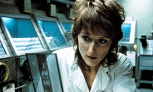 Meryl Streep in the 1983 movie Silkwood.