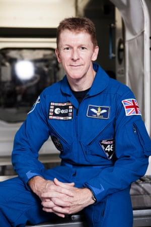 Tim Peake will blast off on 15 December.