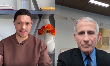 'Right now, today, as we speak, there is no proven, safe and effective direct therapy for coronavirus disease,' Dr Anthony Fauci told Trevor Noah.