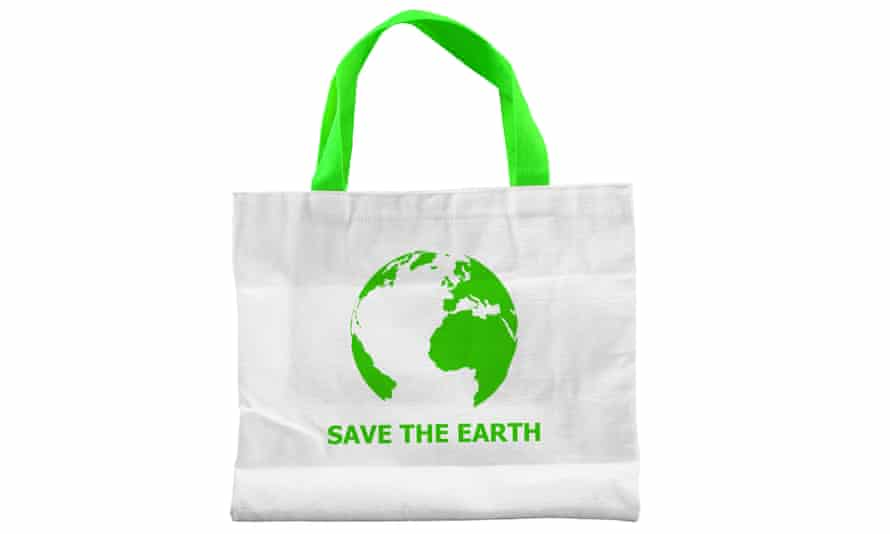 Get a cotton tote bag and use it, often.