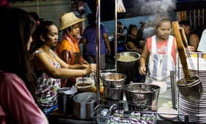 Street food in Thailand.