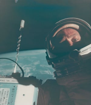 The first self-portrait in space, November 11-15, 1966