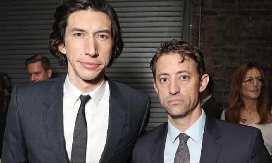 Adam Driver and Daniel Jones at the Canadian premiere of The Report.
