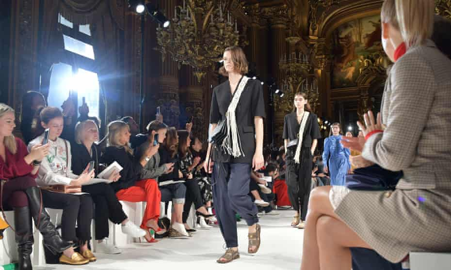 The Stella McCartney show took place at the Palais Garnier opera house in Paris