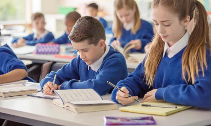 At local authority level fewer areas received top results after the new exams.