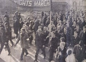 The Armagh march on 30 November 1968