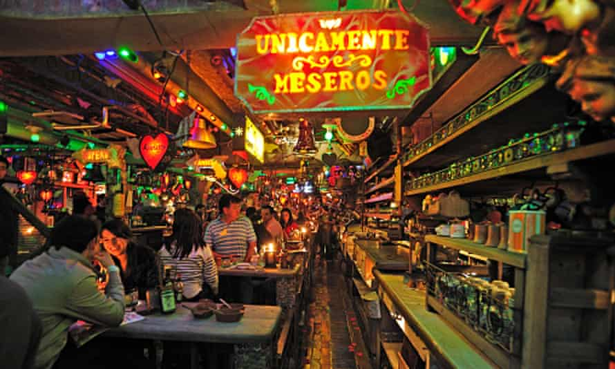 Restaurant Carne de Res, in lively Chapinero.