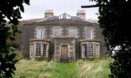 A long way from Pennsylvania … Canna House, once home to Margaret Fay Shaw and John Lorne Campbell on the barely inhabited Hebridean island of Canna.