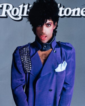 Cover star … Prince in 2016. Photograph: Alamy