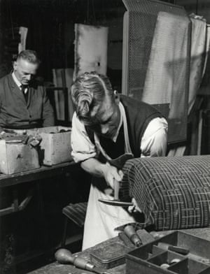 Underground upholsterers, 1954
