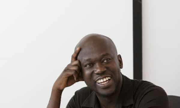 British architect David Adjaye, the lead designer on the Washington museum project.