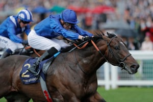 Blue Point and James Doyle winning the Kings Stand Stakes.