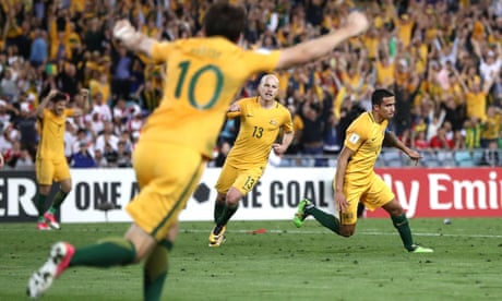 Tim Cahill double keeps Australia alive with extra-time win over Syria