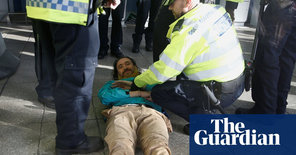 Extinction Rebellion protesters arrested at London City airport