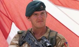 Royal Marine Sgt Alexander Blackman