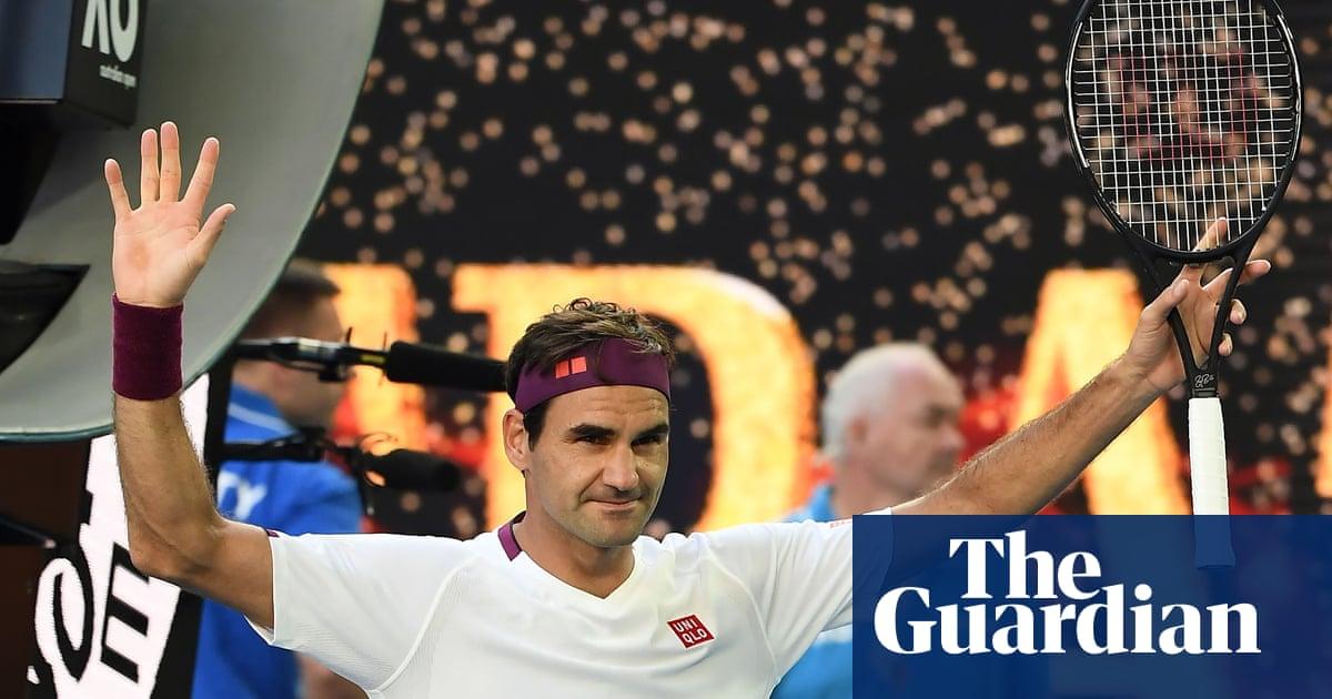 Roger Federer saves seven match points in great escape against Sandgren