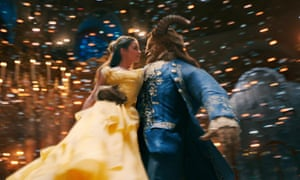 emma watson and dan stevens dancing in beauty and the beast