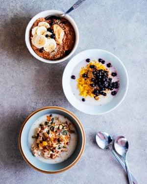 Oatmeal 3 ways