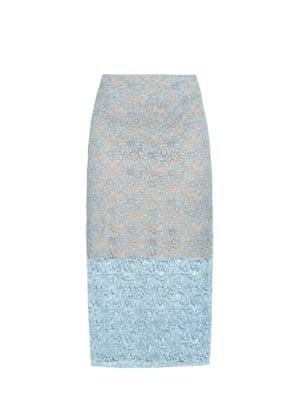 lace pencil skirt £490, Acne Studios