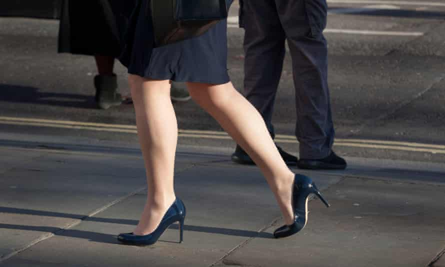 Business people in central London