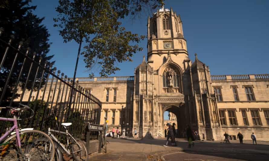 Christ Church College, University of Oxford.