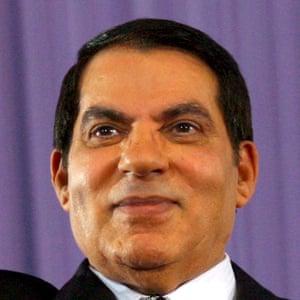 President Zine al-Abidine Ben Ali.