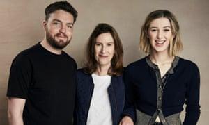 Actor Tom Burke, director Joanna Hogg and actor Honor Swinton-Byrne at Sundance.