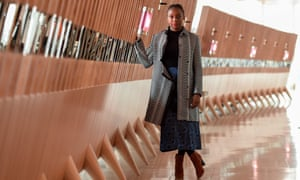 Nigerian author Chimamanda Ngozi Adichie poses during a photo session on January 24, 2018 in Paris.    / AFP PHOTO / STEPHANE DE SAKUTINSTEPHANE DE SAKUTIN/AFP/Getty Images