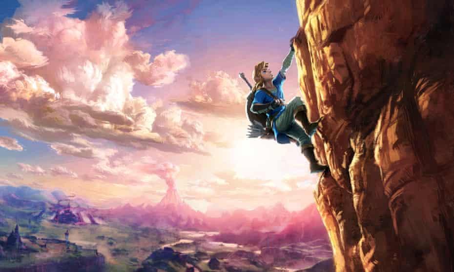 Landmark title … The Legend of Zelda: Breath of the Wild.