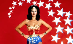 A female love leader: Lynda Carter as Wonder Woman in the 70s TV show.