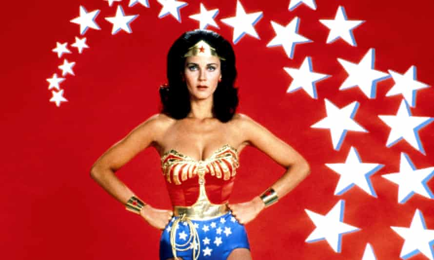 A female love leader: Lynda Carter as Wonder Woman in the 70s TV show.