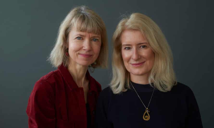 Susan Crook Saunders (right) and Annabel Abbs.