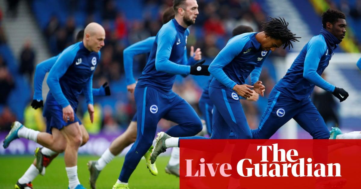 Brighton v Bournemouth: Premier League – live!