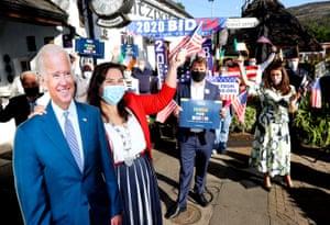 The Irish for Biden campaign