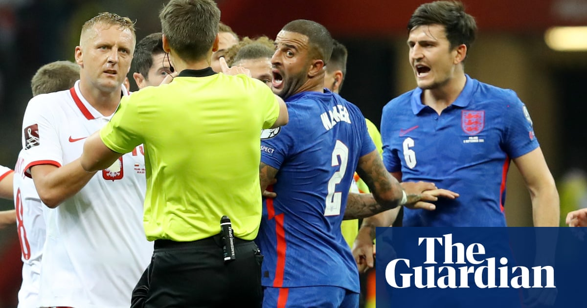 Poland say England lodged 'untrue' complaint Kyle Walker was racially abused