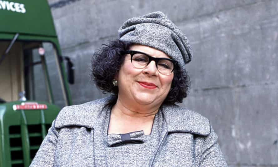 Miriam Margolyes in The Life and Death Of Peter Sellers in 2004