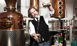 Sipsmith's master gin distiller Jared Brown the distillery in London.