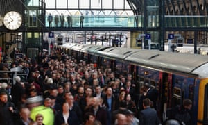 There are moments in the routines of a city when we all become urban subjects ... Rush hour at King's Cross station.