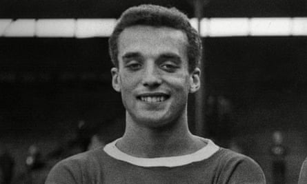 Dennis Walker, pictured here in May 1963, was picked up by Manchester United at the age of 12.