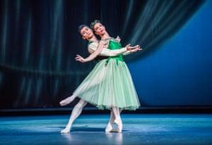 Ryoichi Hirano and Laura Morera in Emeralds.