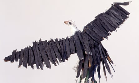 Ralph Griffin's Eagle (1988), part of the We Will Walk exhibition.